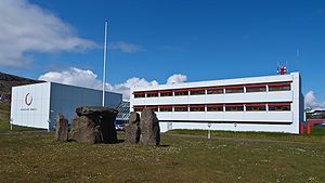Kringvarp Føroya - The headquarters of Kringvarp Føroya.