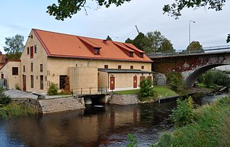 Lyckeby - The old mill Kronokvarnen.