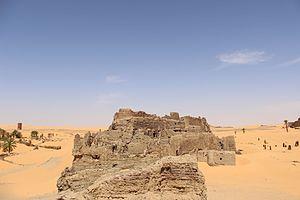 Grand Erg Occidental - Image: Ksar aghlad timimoune
