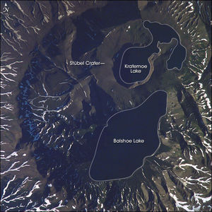 Ksudach - The summit area of Ksudach Volcano