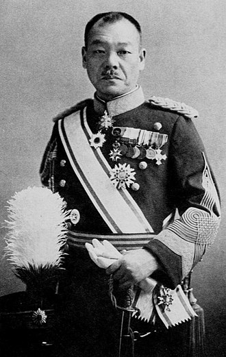 Kuniaki Koiso - Kuniaki Koiso as the Governor General of Korea
