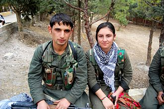 People's Protection Units - YPG and YPJ fighters