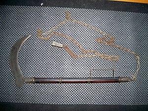Chain weapon - Image: Kusari gama 2