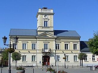 Kutno - Town Hall in Kutno