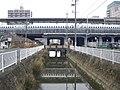 Kuwabara river to pass through Gifu-hashima station, Tokaido Shinkansen 01.jpg