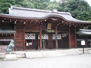 Yamashina-ku, Kyoto - Oishi jinja
