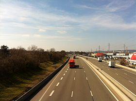 Image illustrative de l'article Autoroute A42 (France)