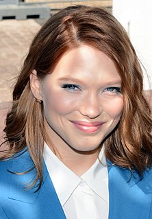 Léa Seydoux French actress