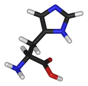 Histidine (data page) - Chemical structure of Histidine