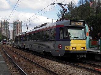 Light Rail (MTR) - Image: LRT 761P Ping Shan
