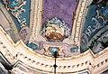 La Cappelletta, 1983, prima dei restauri, un dettaglio della volta e dei colori.jpg