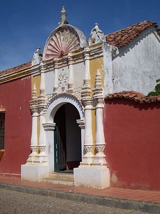 Coro, Venezuela - Image: La Casa de las Ventanas de Hierro (Coro, Venezuela)