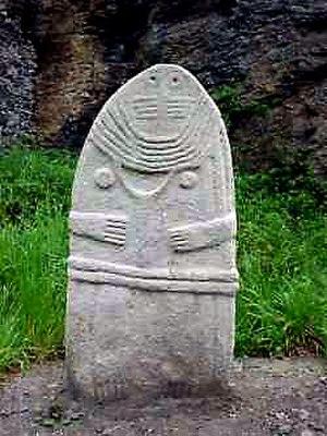 Statue menhir - Image: La Dame de Saint Sernin