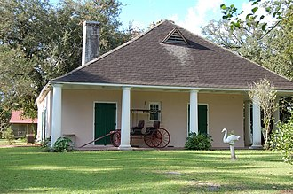 National Register of Historic Places listings in St. Charles Parish, Louisiana - Image: Labranch WM