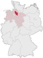 Lage des Landkreises Rotenburg (Wümme) in Deutschland.PNG