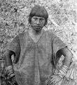 Lago rojo Aguado, NÖ. Bolivia. Man. Han bär bl.a. öron- och näsprydnader - SMVK - 004985.tif