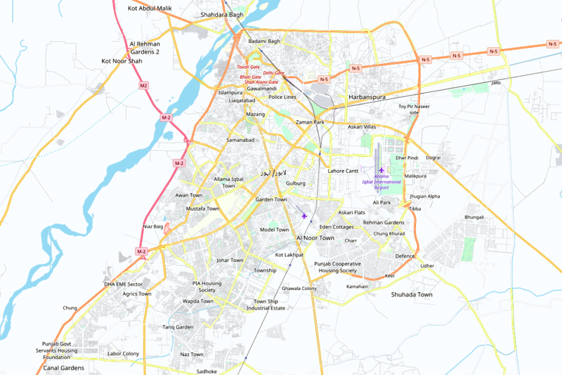 Lahore Map.PNG
