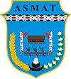 Official seal of Asmat Regency