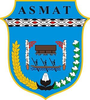 Asmat Regency - Image: Lambang Kabupaten Asmat