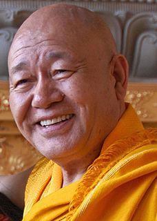 Tibetan Buddhist Lama, teacher and tulku. Abbot of Samye Ling Monastery and Founder of the Holy Isle Project.