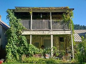 Lana Turner -  Turner's childhood home in Wallace, Idaho.