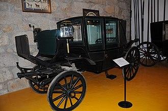 Geraz do Lima Carriage Museum - Image: Landau Carriage