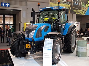 Landini (tractor) - Model 6-140C from 2015