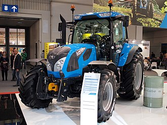 Landini (tractor) - Model 6-140C from 2015