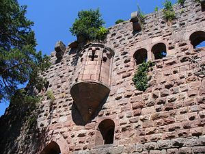 Château du Landsberg - Image: Landsberg kapellenerker