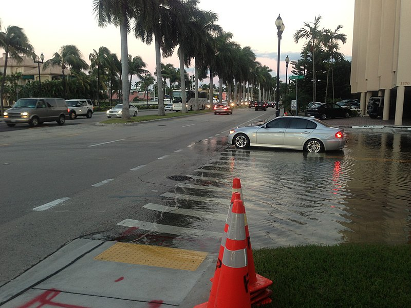 Flooding in Key West, Florida