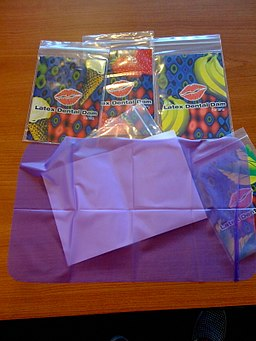 Latex Dental Dam far
