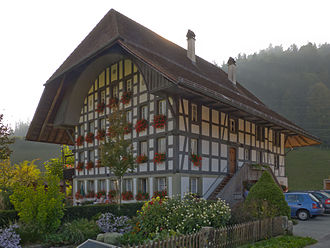 Lauperswil - Wealthy landowners farmhouse in Lauperswil