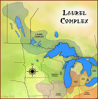 Laurel Complex Former Native American culture in upper midwest and Canada