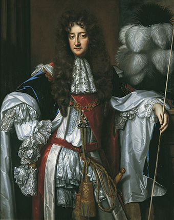 Rochester, once amongst James's supporters, turned against him by 1688, as did most Anglicans. Laurence Hyde, Earl of Rochester.jpg