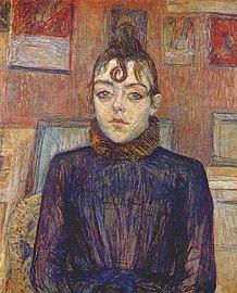 Lautrec girl with lovelock 1889.jpg