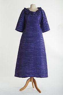 759cf813c9b2 Evening gown - Lavender evening gown by Irish designer Sybil Connolly from  c. 1970