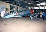 Lavochkin LA-7 White 2 , ADDITIONAL INFORMATION- On display at Monino, 1993. A small batch of La-7s was given to the Czechoslovak Air Force the following year, but it was otherwise not exported. The (18204881679).jpg