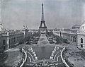 Le Champ de Mars, vue prise du Château d'eau, 1900 Paris World Fair.jpg