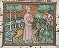 Le Dit du Lyon - Guillaume de Machaut guidé par le lion.jpg