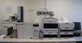 Left - gas chromatograph Right - liquid chromatograph, in CAFIA laboratory, Czech Republic.png