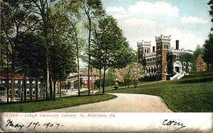 Lehigh University - Asa Packer Campus, 1907.