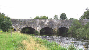Grand Canal (Ireland) - Leinster Aqueduct over the Liffey