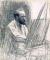 Leon Augustin Lhermitte - Portrait Édouard Manet.jpg
