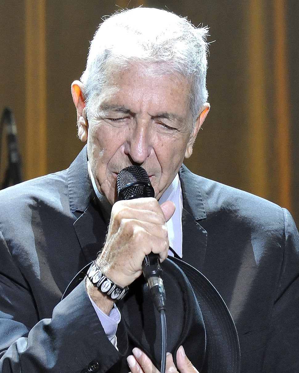 Leonard Cohen 2 2013 (cropped)