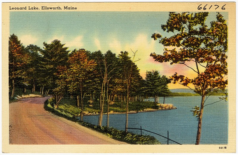 File:Leonard Lake, Ellsworth, Maine (66176).jpg