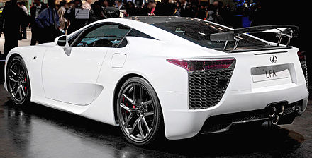 The Production Lexus LFA At The 2009 Tokyo Motor Show