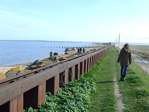 Leysdown Sea Wall 9164
