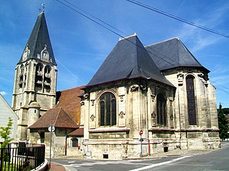 Liancourt - The church in Liancourt