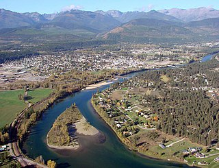Kootenay River river in North America. Tributary of the Columbia River