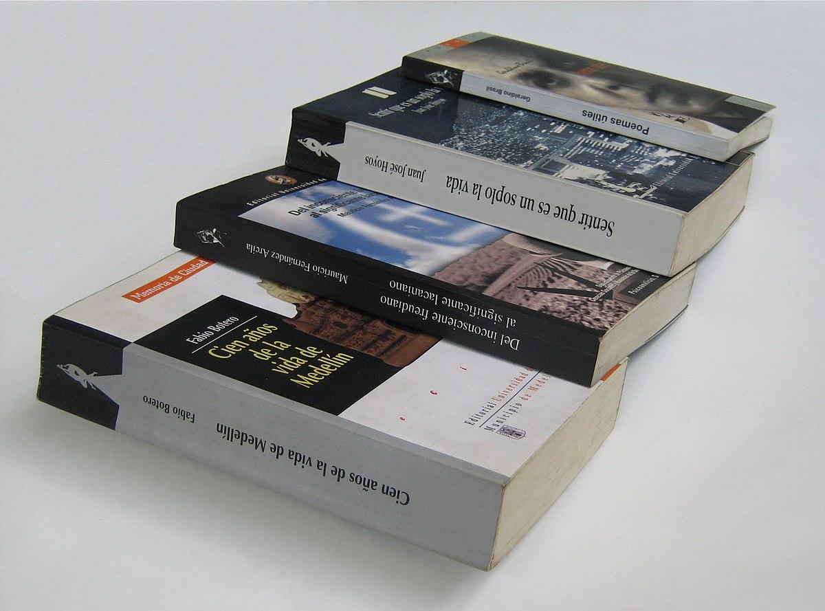 edici243n de libros wikipedia la enciclopedia libre